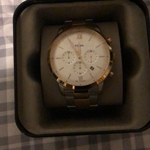 Fossil watch (Two tone)